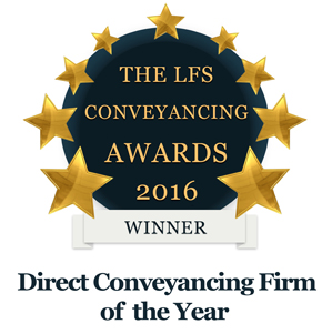Direct Conveyancer Firm of the Year 2016