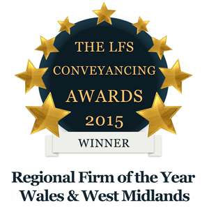 Regional Firm of the Year Wales & West Midlands 2015