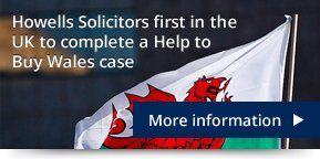 Howells first to complete help to buy case