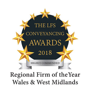 Best Conveyancing Firm Wales and the West Midlands