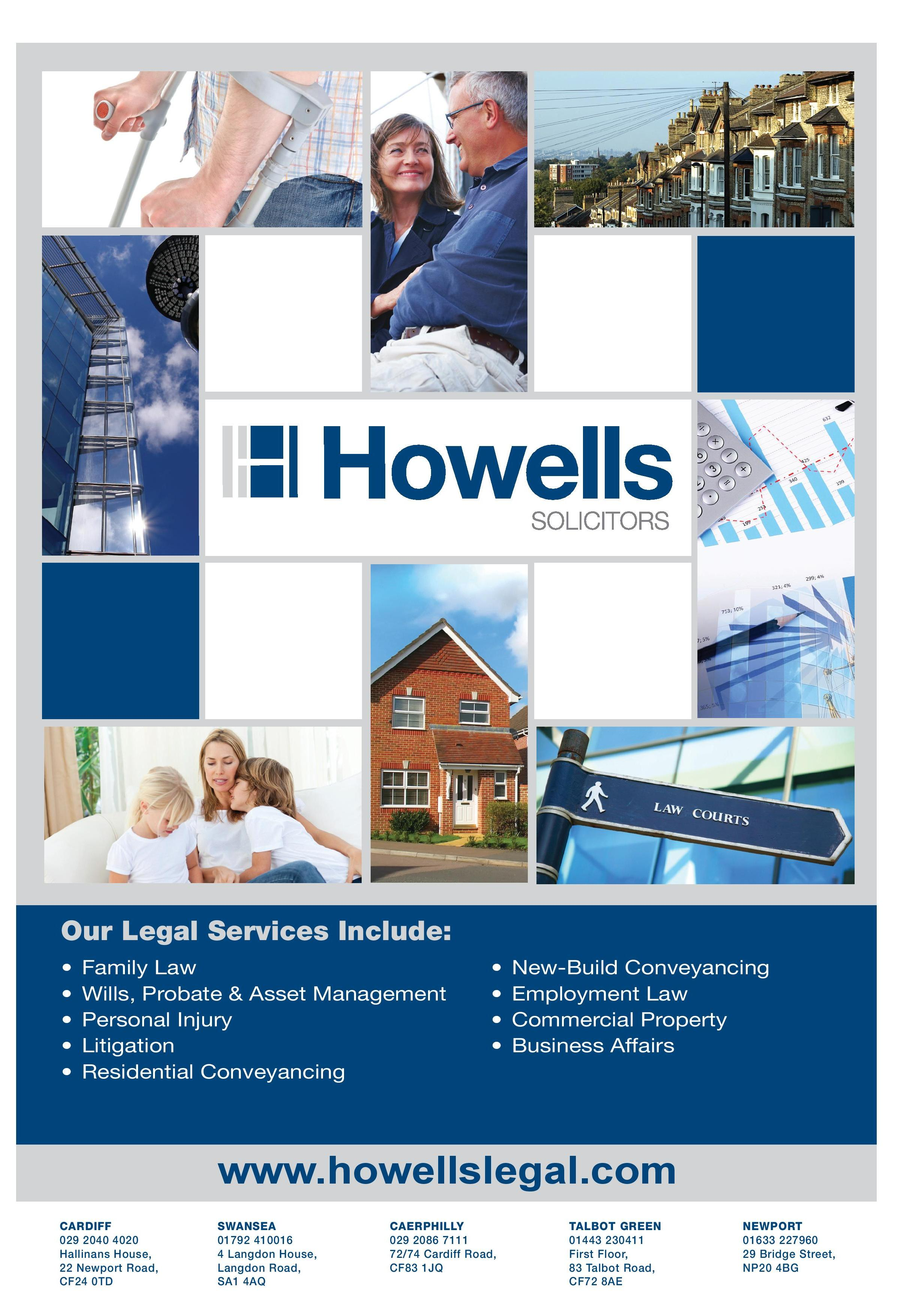legal 500 recognition for howells solicitors