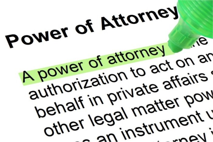 Managing Inheritance and Power of Attorney Common Issues Covered – Power of Attorney